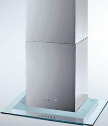 Вытяжка со стеклом Candy CVM 670 LX вытяжка со стеклом siemens lc 65 ka 670 r