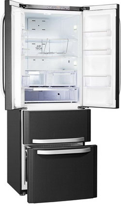Многокамерный холодильник Hotpoint-Ariston E4D AA SB C Quadrio 4401 e aa heba