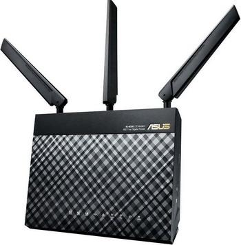 Сетевое и коммуникационное оборудование ASUS 4G-AC 55 U