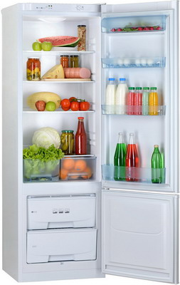 Двухкамерный холодильник Позис RK-103 белый