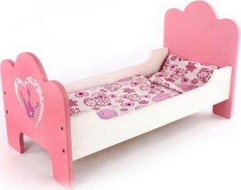Кроватка для кукол MARY POPPINS деревянная Корона