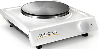 Настольная плита Zencha ЭПЧ 1-1 5/220 белая uponor radi pipe труба белая pn10 25x3 5