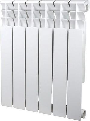 Водяной радиатор отопления SIRA Omega 75 H.500-06 алюминиевый радиатор sira omega as 500 6 секций
