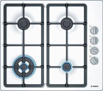 Встраиваемая газовая варочная панель Bosch PBH 6 C2 B 90 R базовый комплект bosch gba 10 8v 2 5ah ow b gal 1830 w 1600a00j0f