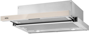 Вытяжка Korting KHP 6211 GB встраиваемая кухонная вытяжка встраиваемая в шкаф с выдвижным экраном korting khp 6211 gb