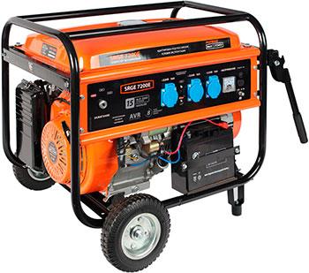 Электрический генератор и электростанция Patriot 474103188 Max Power SRGE 7200 E снегоуборщик patriot ps 710 е