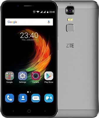 Мобильный телефон ZTE Blade A 610 Plus 4G серый мобильный телефон lenovo k920 vibe z2 pro 4g