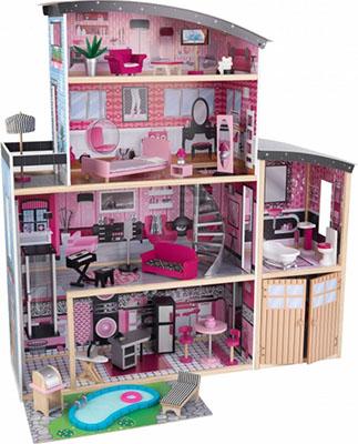 Кукольный дом для Барби KidKraft ''Сияние'' 65826_KE кукольный домик kidkraft кукольный домик для барби амелия с мебелью