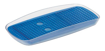 Подставка для моющего средства и губки Tescoma CLEAN KIT 900624 заглушка для кухонной мойки tescoma clean kit универсальная цвет прозрачный диаметр 11 см