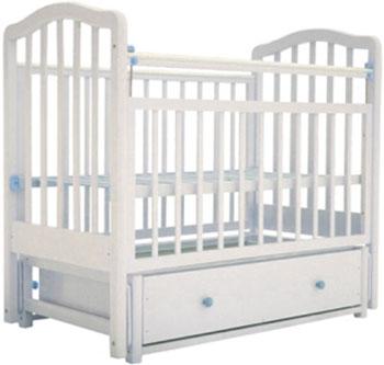 Детская кроватка Лаура 2 маятник продольный ящик слоновая кость обычная кроватка ведрусс иришка 2 слоновая кость
