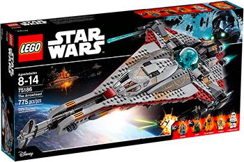 Конструктор Lego STAR WARS ''Стрела'' 75186-L