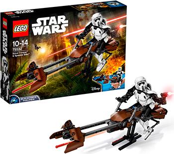 Конструктор Lego STAR WARS Штурмовик-разведчик на спидере 75532-L