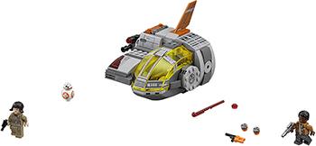 Конструктор Lego Star Wars Транспортный корабль Сопротивления 75176-L star wars lego конструктор lego star wars 75129 боевой корабль вуки
