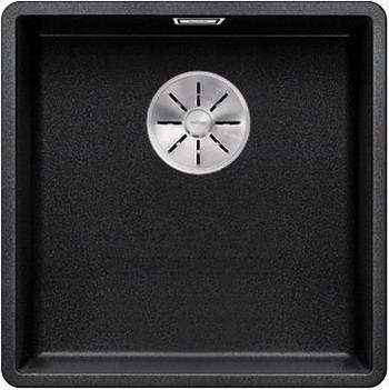 Кухонная мойка BLANCO SUBLINE 400-F антрацит с отв.арм. InFino 523475 мойка subline 400 f jasmine 519800 blanco