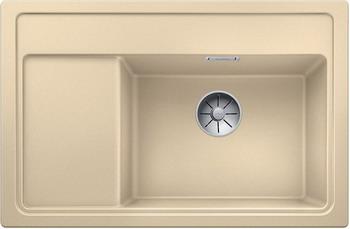 Кухонная мойка BLANCO ZENAR XL 6S Compact шампань чаша справа доска стекло c кл.-авт. InFino 523760 blanco nova 5 s чаша справа шампань