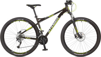 Велосипед Stinger 29'' Zeta HD 18'' черный 29 AHD.ZETAHD.18 BK7 stinger zeta hd 26 рама 18 черно голубой