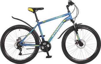 Велосипед Stinger 26'' Element D 16'' синий 26 AHD.ELEMD.16 BL7 коммутатор zyxel gs1100 16 gs1100 16 eu0101f