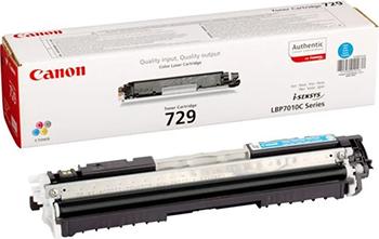 Картридж Canon 729 C 4369 B 002 картридж для принтера и мфу canon c exv21y yellow