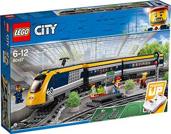 Конструктор Lego City Trains 60197 Пассажирский поезд siku пригородный пассажирский поезд