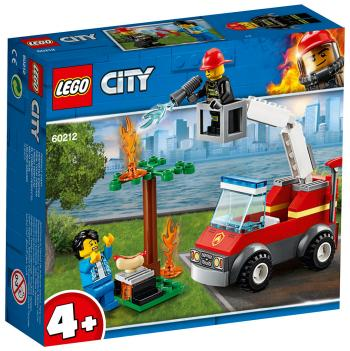 Конструктор Lego Пожар на пикнике 60212 City Fire jie star fire ladder truck 3 kinds deformations city fire series building block toys for children diy assembled block toy 22024