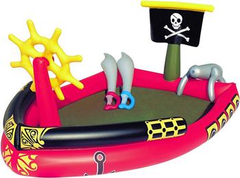 Игровой бассейн BestWay Пираты 190х140х96 212л с брызгалкой и принадлежностями для игр 53041 BW