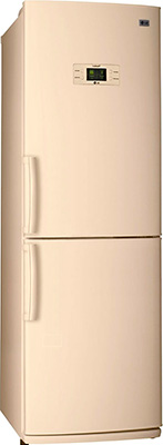 Двухкамерный холодильник LG GA-B 409 UEQA холодильник с морозильной камерой lg ga b409uqda