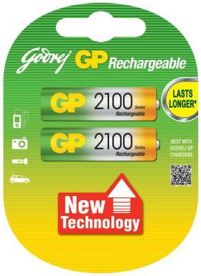 Аккумулятор GP 2100 AA зарядное устройство и аккумулятор gp powerbank pb420gs130 1300mah aa 4шт
