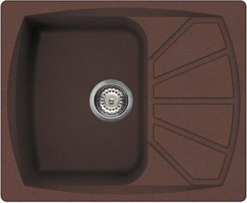 Кухонная мойка Smeg LSE 611 RA-2 медный (METALTEK) шатура smeg вытяжка kd90rw 2