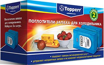 Поглотитель запаха Topperr 3105 поглотитель запаха greenfield д холодильников 2шт