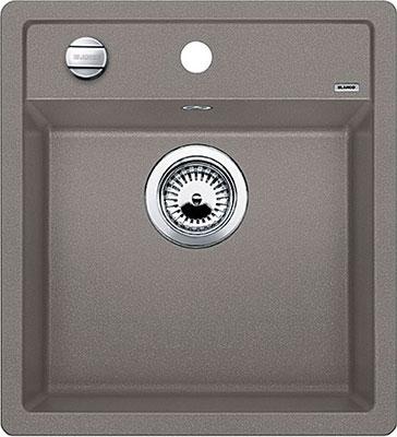 Кухонная мойка BLANCO DALAGO 45 SILGRANIT серый беж с клапаном-автоматом цены