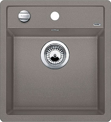Кухонная мойка BLANCO DALAGO 45 SILGRANIT серый беж с клапаном-автоматом  мойка dalago 45 jasmine 517161 blanco