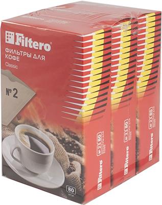 Набор фильтров Filtero Classic №2 240 шт.