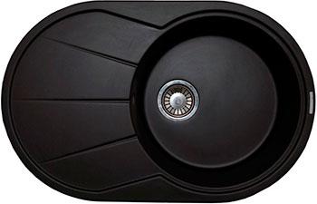 Кухонная мойка LAVA E.3 (LAVA чёрный металлик) мойка кухонная lava e1 чёрный металлик e1 lav