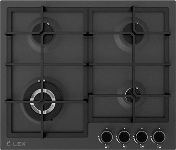 Встраиваемая газовая варочная панель Lex GVS 645 BL Matt Edition lex veta bl 600