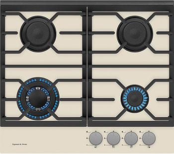 Встраиваемая газовая варочная панель Zigmund amp Shtain MN 135.61 I встраиваемая газовая варочная панель zigmund amp shtain mn 115 61 x