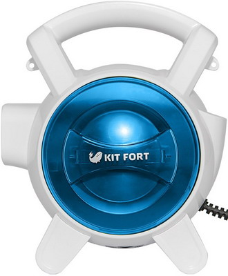 Пылесос Kitfort KT-526-1 cиний ручной пылесос handstick kitfort kt 526 1 400вт синий белый
