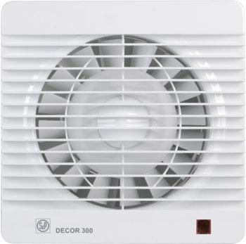 Вытяжной вентилятор Soler amp Palau D&#233 cor 300 CR с таймером (белый) 03-0103-012 d 012