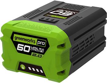 Литий-ионная аккумуляторная батарея Greenworks 60 V G 60 B2 2918307 цены