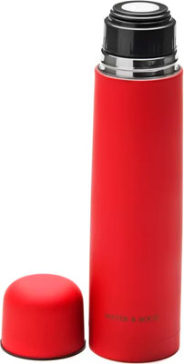Термос MayerampBoch 25890 красный нерж 0 75 л мет/колба