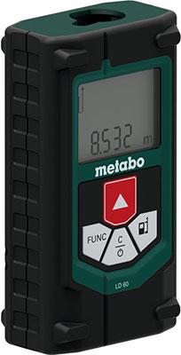 Дальномер лазерный Metabo LD 60 60 м 606163000 top save зеленый l