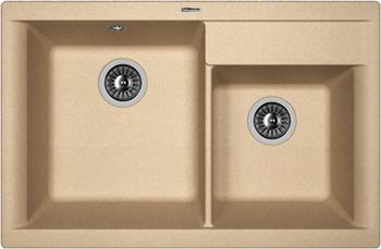 Кухонная мойка Florentina Касси 780 780х510 бежевый FG кухонная мойка florentina касси 780 780х510 антрацит fsm
