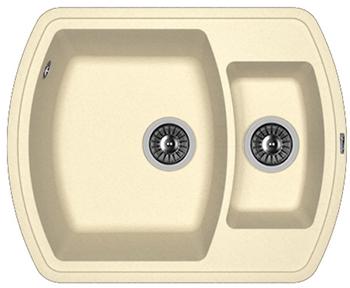 Кухонная мойка Florentina Нире-630 К шампань FS мойка florentina нире 480 грей