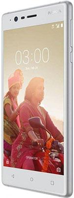 Мобильный телефон Nokia 3 Dual Sim белый мобильный телефон nokia 216 dual sim голубой