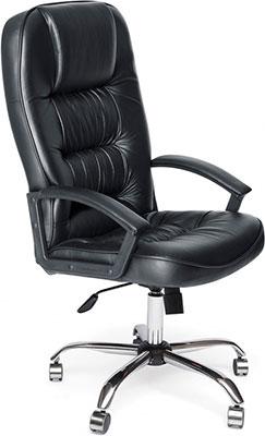 Кресло Tetchair СН9944 (Хром Кож/Зам Черный)