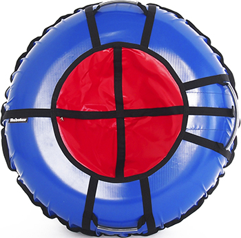 Тюбинг Hubster Ринг Pro синий-красный (120см) во4813-3 тюбинг hubster sport plus красный синий 90см во4188 3