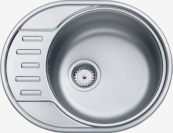 Кухонная мойка FRANKE POLAR нерж PXN 611-57 101.0380.073 стилус polar pp001