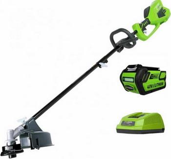 Триммер Greenworks GD 40 BCK6 1301507 UF триммер струнный gd40bc 40в greenworks tools 1301507