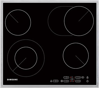 Встраиваемая электрическая варочная панель Samsung