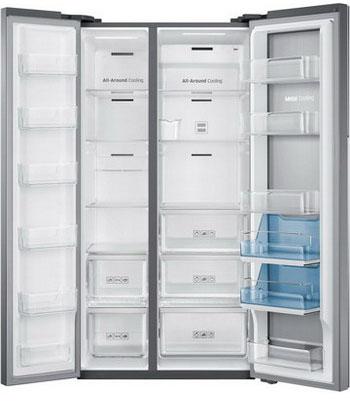 Холодильник Side by Side Samsung RH 60 H 90203 L Food Showcase холодильник side by side samsung rs57k4000sa