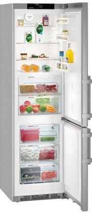 Двухкамерный холодильник Liebherr CBNef 4815 двухкамерный холодильник liebherr ctpsl 2541